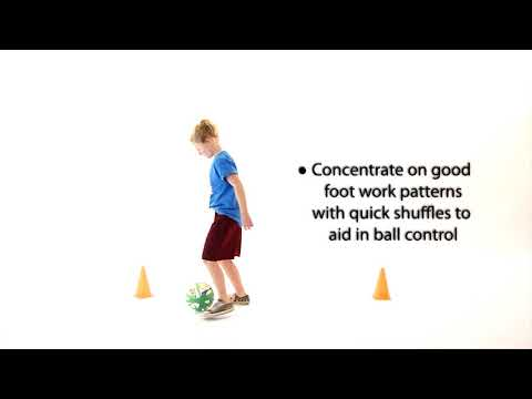 Learn now to dribble - hand and foot