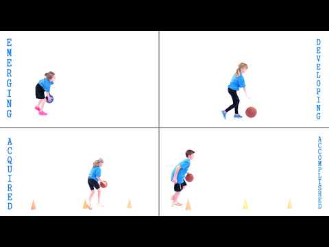 Assessing the Fundamental Movement Skill of Dribbling (hands)