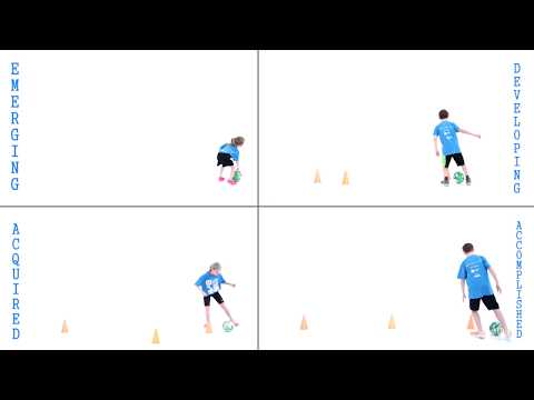 Assessing the Fundamental Movement Skill of Dribbling (feet)