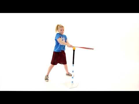 Learn how to Strike (teeball or cricket)